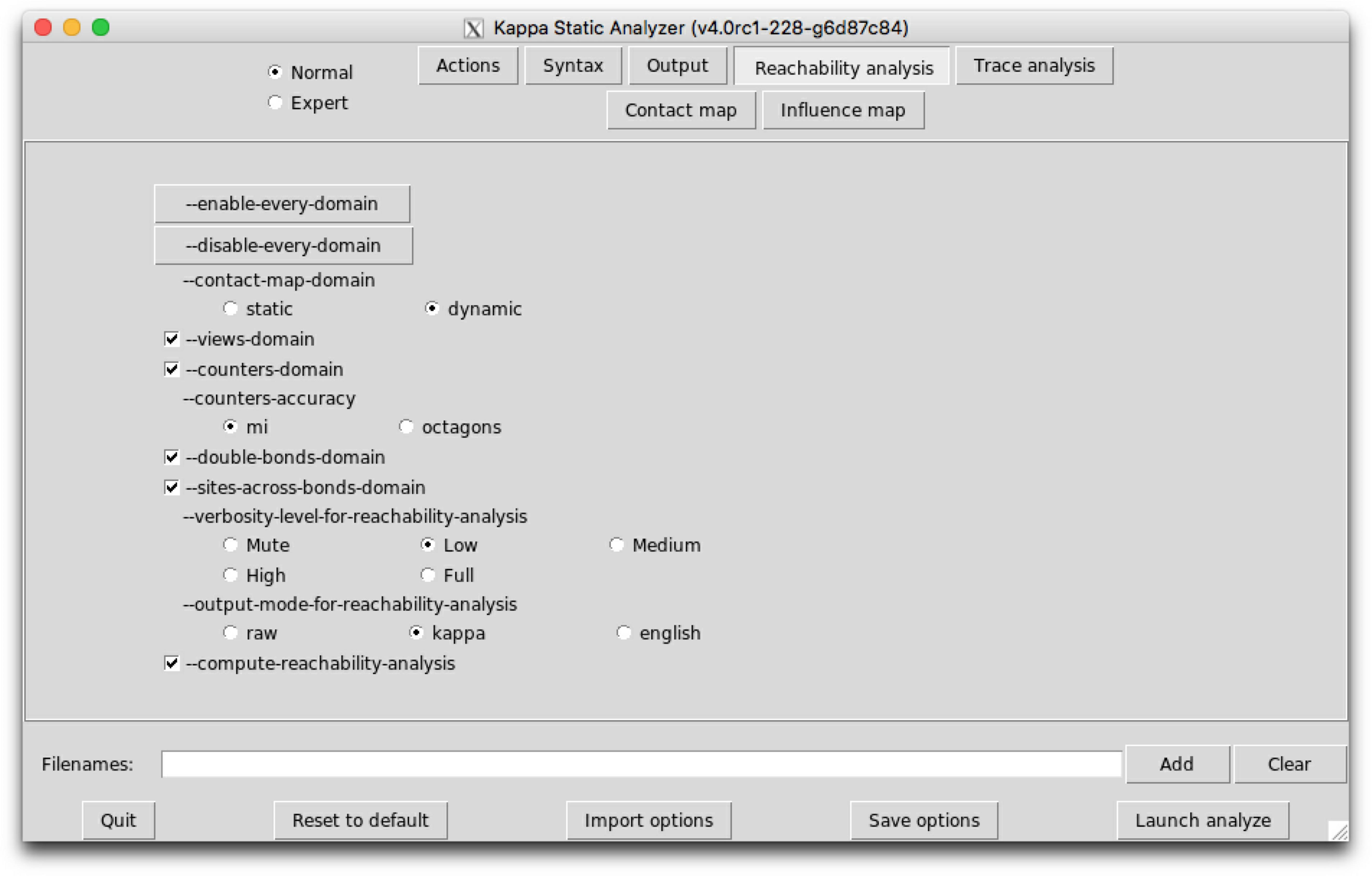 Kappa tools reference manual (release v4 0 93-kappy-12-g6e8e28d)